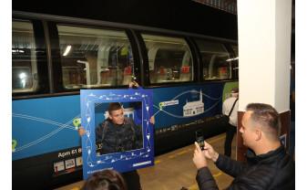 """Trenul """"Connecting Europe Express"""", haltă la Oradea - Proiectul drumului de fier european"""