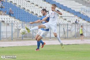 Unirea Alba Iulia - CSC Sânmartin 3-0 - Fără forţă pe final