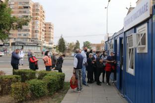 În Oradea, la Centrul din Piaţa Gojdu - Liber la vaccinare cu doza trei