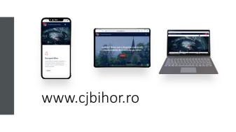 Design nou pentru site-ul Consiliului Judeţean - Disponibil şi în maghiară