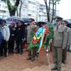 Adunare festivă la Monumentul Martirilor - Beiuș - a 98-a bornă a libertății