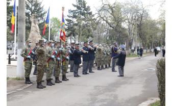 Oradea. Ziua Veteranilor de Război - Marcată printr-o ceremonie scurtă