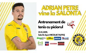 Adrian Petre, invitat la Salonta - Antrenament cu campionii de la Tengo