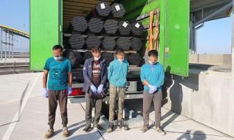Şase migranţi au încercat să iasă din ţară călăuziţi de un sârb - Afgani opriţi la frontieră