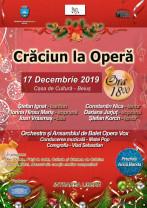 Un spectacol inedit în Beiuş - Crăciun la Operă