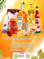 În perioada la 24-25 aprilie - Târg de produse tradiţionale din Valea Ierului