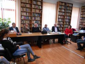 """Lansare de carte la Aleşd - """"Nisipul și pletele muzei"""""""