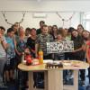 Elevi de la Liceul Ortodox, alături de copiii și tinerii cu autism - Voluntari la SOS Autism Bihor