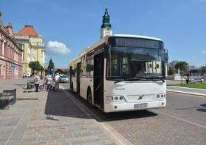 Proiect transfrontalier derulat de OTL - Șapte autobuze noi pentru Oradea