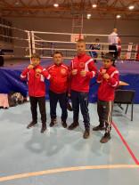 Salontani pe podium la Centura Transilvaniei - Basti Box a performat la Cluj-Napoca