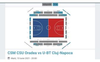 Arena Antonio Alexe va fi plină la meciul 3 al finalei - Bilete vândute deja în proporție de peste 70%