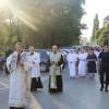Pelerinaj la Mănăstirea Franciscană Maica Domnului - Procesiune cu statuia Fecioarei de la Fatima