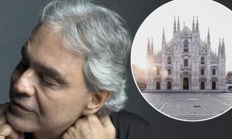 Andrea Bocelli, despre recitalul de la Domul din Milano - Nu este un concert, ci o rugăciune