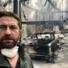 Incendiile din California - Gerald Butler printre sinistraţi