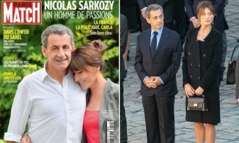 O fotografie din Paris Match stârneşte ironii - Sarkozy a crescut subit!