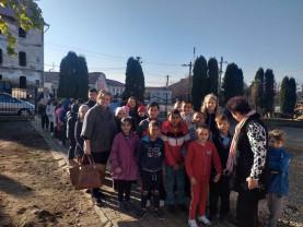 """Elevii Liceului Greco-Catolic """"Iuliu Maniu"""" în săptămâna Educaţiei Globale - ,,Dăruiesc o carte"""""""