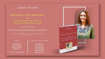 """Carte educativă pentru copii și părinți - """"Jurnalul unei povești"""", de Mirela Niță Lupu"""