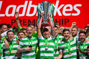 Sezon încheiat în Scoţia - Celtic, declarată campioană