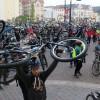 Sute de biciclişti au pedalat prin Oradea - Critical Mass 2017