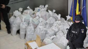 Având o puritate 90%, valoarea de piaţă ajunge la 300 milioane euro - Captură record de cocaină