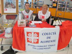 Caritas Eparhial Oradea, alături de nevoiași - Colecta de alimente