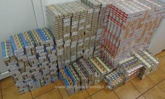 Rețea în domeniul comercializării ilegale de țigări - Zece contrabandiști, trimiși în judecată
