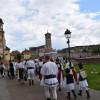 Convoi de căruțe trase de cai spre Alba Iulia - Refac traseul maramureşenilor