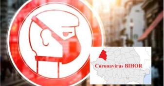 Covid-19 în Bihor - Aproape 1500 de cazuri active