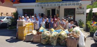 Curăţenia, condiţie vitală a vieţii - Acţiuni de ecologizare în Aleşd
