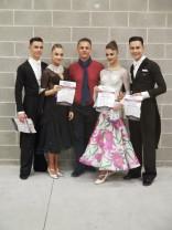 Rezultate remarcabile la competiții internaționale - Dansatorii de la Exclusive, pe podium
