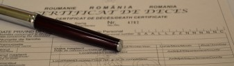 Direcţia de Evidenţă a Persoanelor Bihor - Eliberarea certificatelor de deces