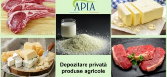 APIA. Produse agroalimentare - Ajutor pentru depozitarea privată