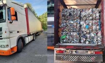 Peste 25  tone depistate în Borș și Nădlac II - Alte deşeuri oprite la graniţa de vest a ţării