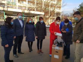 ADP sprijină Spitalul Municipal în lupta cu pandemia - Donație în valoare de 30.000 de euro