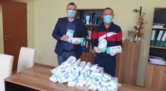 """Ștei. CN """"Avram Iancu"""" - Donații pentru stoparea nemilosului virus"""