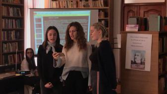Biblioteca orăşenească din Aleşd - Mihai Eminescu – emblemă a culturii româneşti