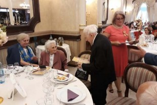 Familia Boris și Hortenzia Belicciu - 62 de ani de căsătorie