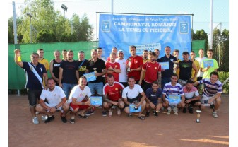 Podium inedit la campionatul de tenis cu piciorul - Clujenii au învins liderul