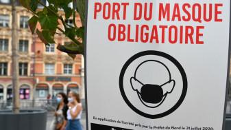 Reguli diferite privind purtarea măştii pe acelaşi bulevard, într-o metropolă din Franţa - Locuitori nedumeriţi