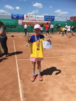 Orădeni în clasamentele FR Tenis - Giulia Popa e prima la 10 ani