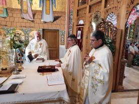 Părintele Marcel Boloș, din nou în mijlocul comunității - Hramul Bisericii din Ioşia Nord