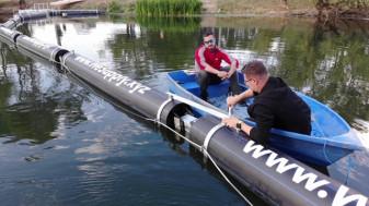 În premieră naţională, doi tineri orădeni au realizat un dispozitiv unic - Sistem de curăţare automată a râurilor