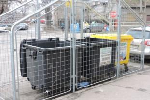 La cererea asociațiilor de proprietari - Incinte metalice pentru colectarea deşeurilor