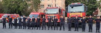 A doua misiune a pompierilor români în Grecia, sub comandă bihoreană