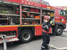Misiuni și recomandări ale pompierilor militari bihoreni - Revelion în siguranţă