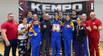 Crişul şi King Do, la Cupa României de Semi-Kempo - Nouă medalii pentru orădeni