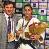 Pe podium la Sankt Petersburg - Medalie de bronz pentru Larisa Florian