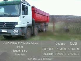GNM Bihor. O nouă mașină confiscată în Bihor - Transport ilegal de deşeuri