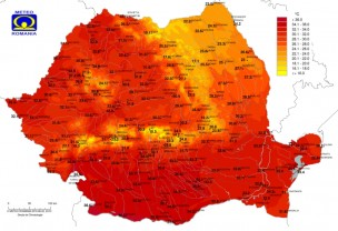Temperaturi de până la 36 de grade și disconfort termic, până duminică