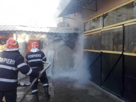 Bărbat decedat într-un incendiu, la Aleșd
